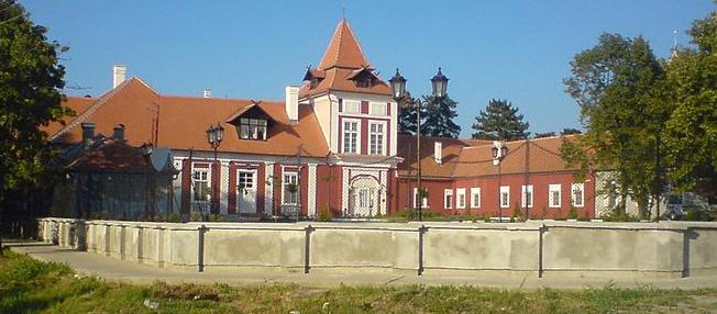 Serbian castle Écska